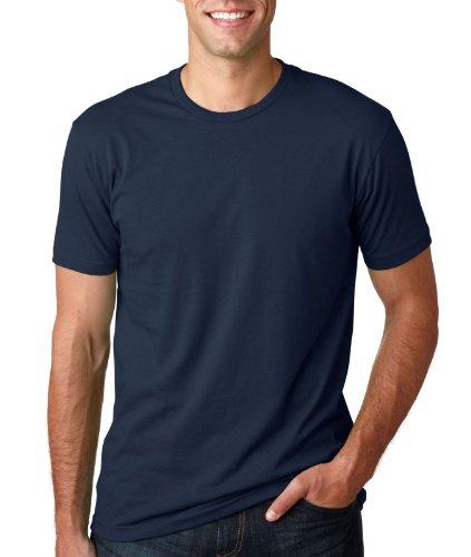 Next Level Mens Premium Fitted Short-Sleeve Crew T-Shirt - Medium - Light Grey