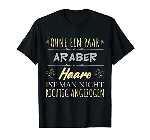 Pferdehaare Pferdespruch Reiterin Geschenk Araber Pferde T-Shirt