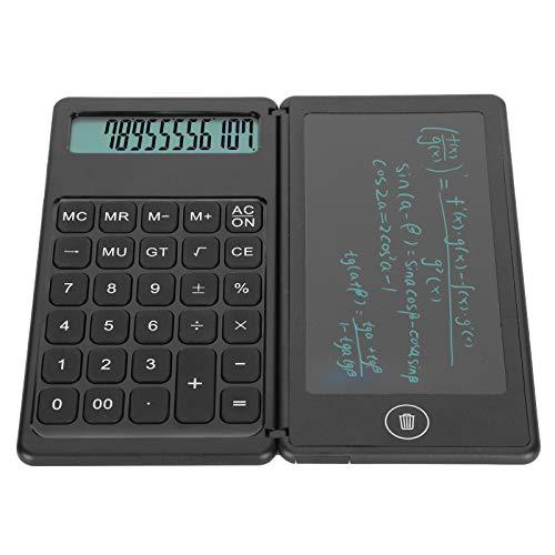 Tableta calculadora, Pantalla de dígitos Práctica Tableta pequeña y portátil con calculadora y botón de borrado para el hogar para Adultos
