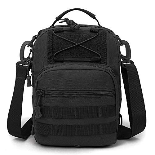 TnXan Outdoor Sport Tactical Brusttasche Military Sling Einzelner Schulterbeutel Camping Wandern Rucksack Klettern multifunktional