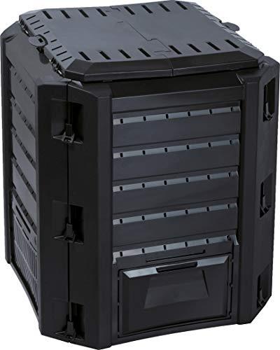 Prosper Plast ikl380C-s41171.9x 71.9x 82.6cm Compogreen Composter–Nero (Pezzi)
