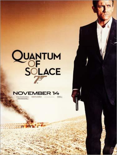 Posterlounge Cuadro de metacrilato 30 x 40 cm: Quantum of Solace de Entertainment Collection
