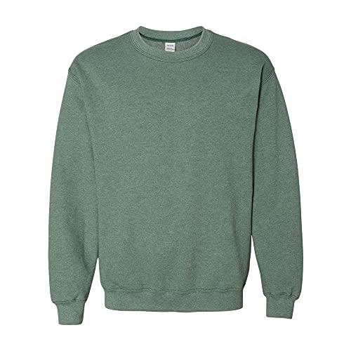 Gildan Sweat-shirt à col rond en tissu mélangé résistant - Vert - X-Large