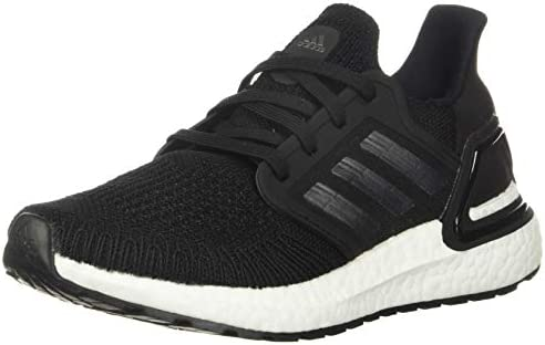 adidas Women s Ultraboost 20 Running Shoe Black Night Metallic White 9 M US product image