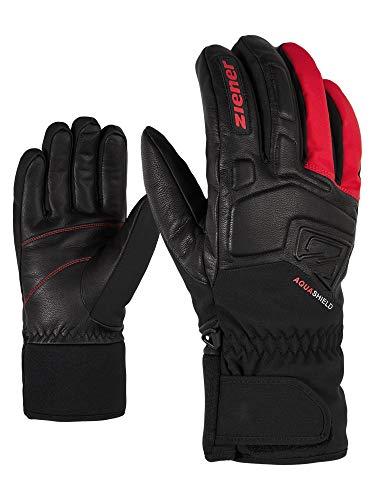 Ziener Erwachsene GLYXUS AS(R) Glove Alpine Ski-handschuhe/Wintersport | Wasserdicht, Atmungsaktiv, rot (fiesta red), 8