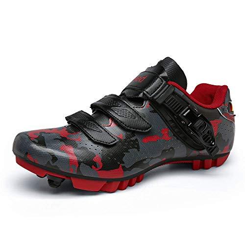 Zapatillas profesionales de ciclismo de carretera para hombre MTB SPD Freestyle Zapatos...