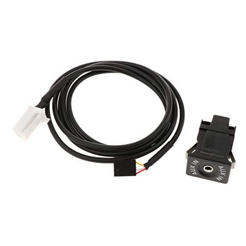 B Blesiya Adaptador de Cable de Enchufe de Interruptor Auxiliar USB para Suzuki SX4 Grand Vitara 2007-2010