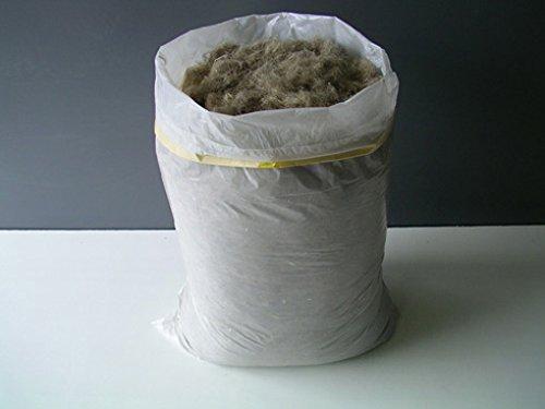 Hanf Stopfwolle 5 kg Dämmstoff Dämmhanf Stopfhanf Hanf