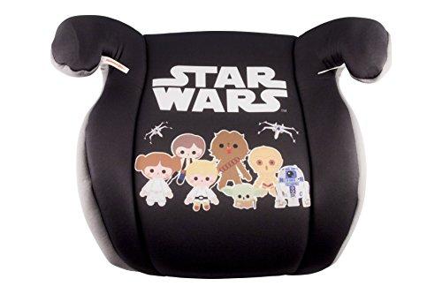 Sillita de coche Star Wars Booster (Niño pequeño) para niños, alzador - Modelo saga - Negro y gris - Edad 3+