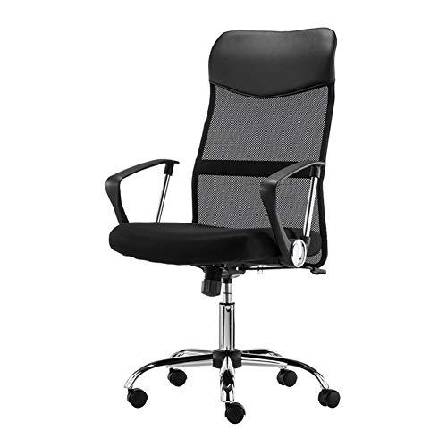 Silla de ordenador, asiento giratorio de malla ergonómica, silla de oficina en casa, altura ajustable, reclinable