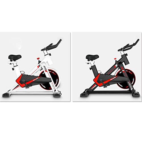 GWXSST Las Bicicletas de Fitness hogar Bicicletas Bicicletas Deportes Silent Aptitud de Peso del Equipo Equipo de pérdida de Bicicletas Indoor Bicicletas Bicicletas fijas Aerobic (Color : White)