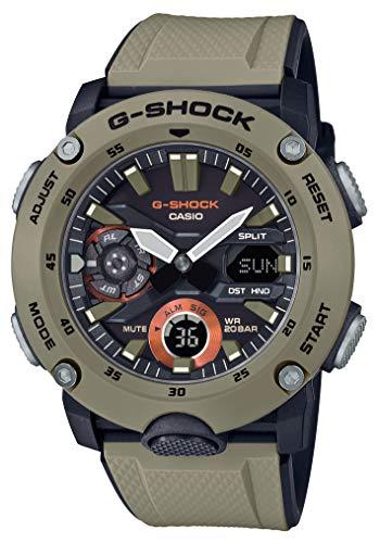 G-SHOCK [Casio] Uhr Gee Schock Karbonkern Schutzstruktur GA-2000-5AJF Männer Brown