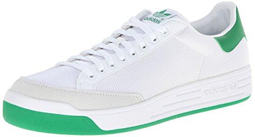 adidas mens Rod Laver-m Sneaker, RUNWHT/RUNWHT/FAIRWA, 5 US 🔥