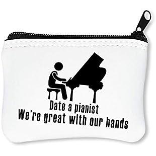 Date A Pianist Car Sticker Zipper Wallet Coin Purse