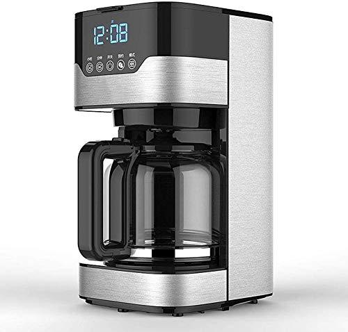 YINGGEXU Máquina de café de la máquina de café, máquina de café de 220V completamente automática tipo goteo con filtro, cafetera automática, máquina de té casera, para la oficina en casa al aire libre