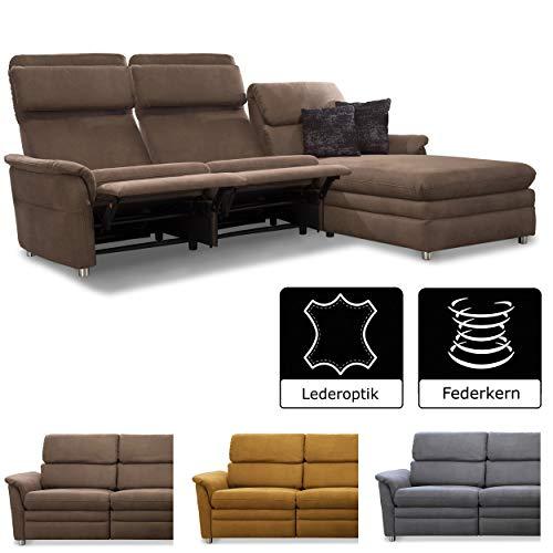 3er couch leder