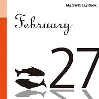 2月27日 My Birthday Book