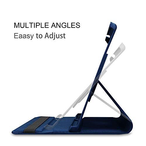 Hülle Kompatibel mit Samsung Galaxy Tab A 10.5 2018, 360 Grad Rotations Folio Etui Lederhülle Schutzhülle Tasche mit Auto Schlaf/Wach Funktion für Galaxy Tab A 10,5 Zoll SM-T590/T595 2018 Tablet-PC