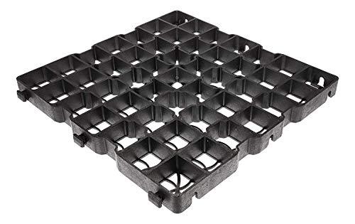 Land-Grid 40LG Rasengitter Paddockplatten 50x50x4 cm Paddockplatte Rasengitterplatten (4m²)