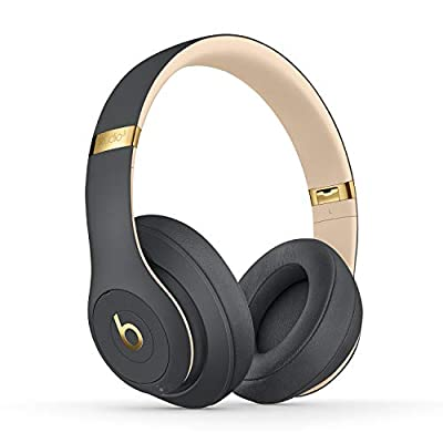 Beats Studio3 Wireless Noise Cancelling Over-Ear Headphones - Apple W1 Headphone Chip, Class 1 Bluetooth, Active Noise Cancelling, 22 Hours Of Listening Time - ShadowGrey by Apple Computer