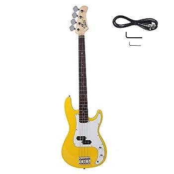 Best yellow bass guitar Reviews