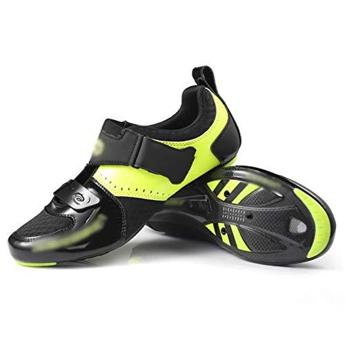 Fahrradschuhe Rotating Buckle Lock Schuhe Carbon-Fahrradschuhe, Selbsthemmende Straßenschuhe, Triathlon-Fahrradschuhe, Atmungsaktive Schuhe Mit Ultraleichtem Wasserfilter