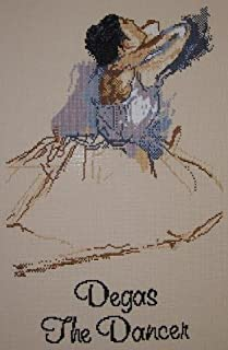 The Dancer by Degas, A Counted Cross Stitch Kit