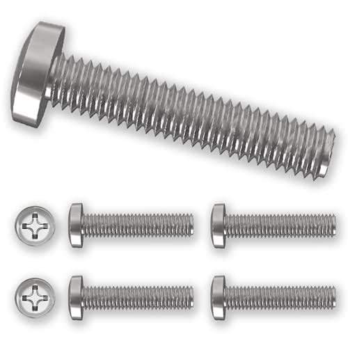 4 x M8 45mm Philips Bolts Screws for Samsung Televisions & Monitors for...