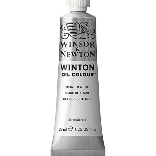 Winsor & Newton Winton - Tubo óleo, 37 ml, color blanco de titanio