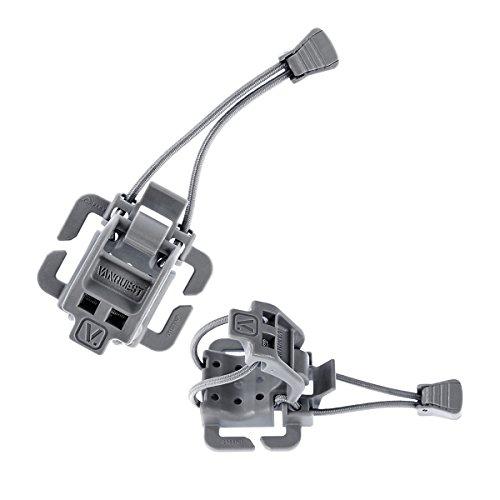VANQUEST ELASTO Gear Lock (2 unidades) (gris lobo)