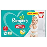 Pampers Baby-Dry Pants Couches avec canaux d'aération, taille 5