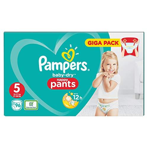 Pampers Baby-Dry 81681814 pannolino usa e getta Ragazzo/Ragazza 5 96 pezzo(i)