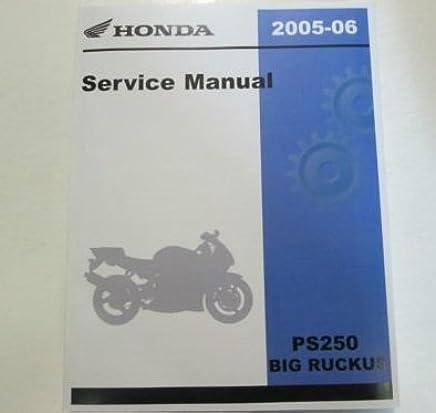 Ps250 Service Manual Books