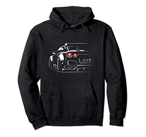 JDM Tuning Legend Skyline 35 Because Racecar Turbo Boost Car Pullover Hoodie