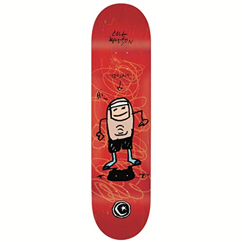 Foundation Toe Jam Skateboard-Brett / Deck, 21 cm
