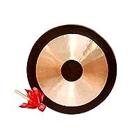 ゴングダオゴング中国の伝統的な風水ゴングは、音響療法、ヨガ、瞑想で使用される手作りの青銅合金の打楽器です。 (Size : 80cm/31.5inch)