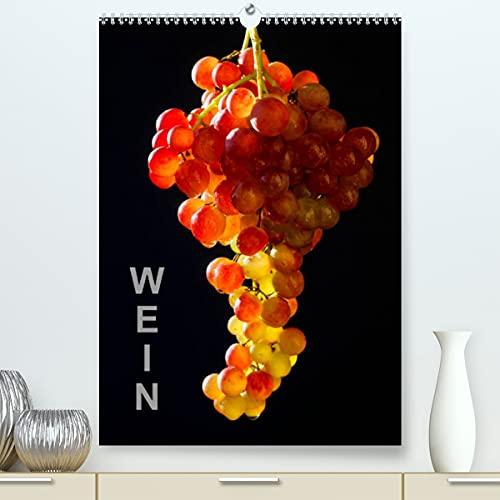 Wein (Premium, hochwertiger DIN A2 Wandkalender 2022, Kunstdruck in Hochglanz): Fotografien von Weintrauben und Rotwein (Monatskalender, 14 Seiten ) (CALVENDO Lifestyle)