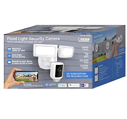 Feit Electric LED 1080P HD Smart Flood Light Security Camera