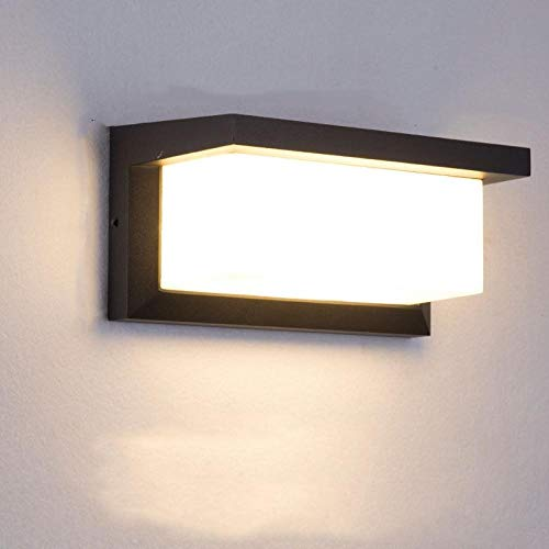 LED Wall Light, Water Ware, Night Light, Outdoor Wall, Courtyard, Outdoor-Warm Light