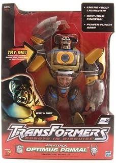 "Transformers Robots in Disguise RID Beast War Air Attack Optimus Prime Primal Supreme Gorilla 12"" Action Figure (2001 Hasbro)"