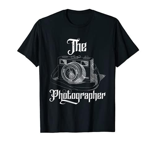 El fotógrafo Fotografía Paisaje Fotografía Cámara Camiseta