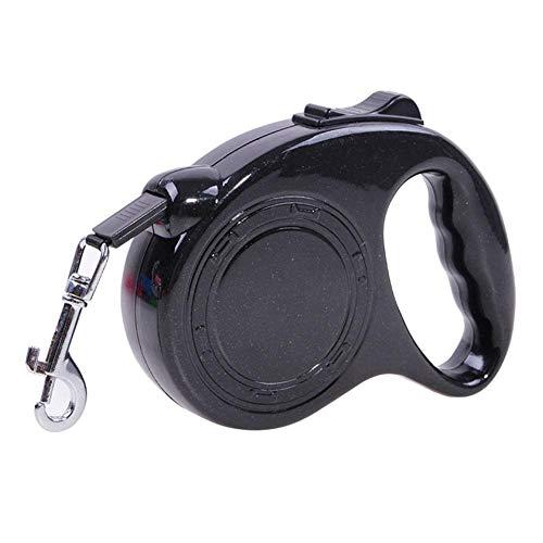 Lubier 1 Stück Einziehbare Hundeleine Klassische Übungsleinen mit ergonomischem Design Sicherheitsgeschirre für Haustier Professional Groß Roll-Leine
