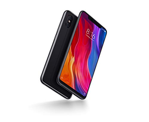 Xiaomi Mi8 -  6GB RAM and 64GB Storage 6.21-Inch Android 8.1 UK Version SIM-Free Smartphone - Black (Official UK Launch)