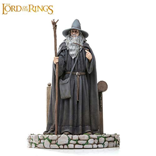 CQ The Lord of The Rings Statue: Gandalf Collectible Figurine from Movie Series Toys image