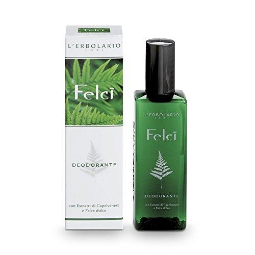 L'Erbolario Farn Deodorant, 1er Pack (1 x 100 ml)