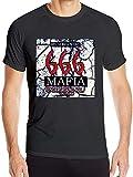 Photo de Mens Quick Drying Three Six Mafia Logo Fitness Tees,Black,Medium