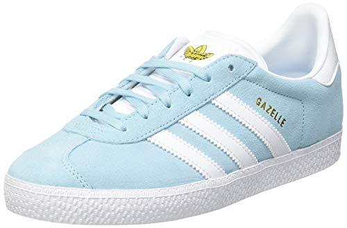 adidas Gazelle, Sneaker, Hazy Sky/Footwear White/Yellow, 38 2/3 EU