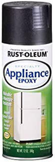 Rust-Oleum 7886830 Appliance Enamel 12-Ounce Spray, Black