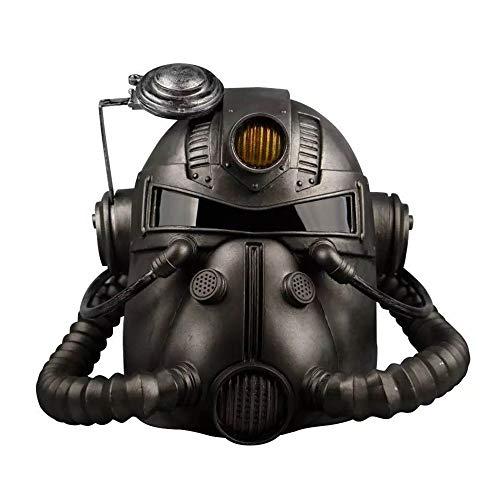 WXG1 Cosplay Helm, PVC Radiation Gasmaske, Halloween Anzeigen Verkleiden Props, Videospiel Masquerade Horror Film-Spiele Around, Geeignet Für Erwachsene (Eine Größe)