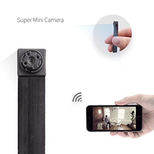 Cámara espía AIWAYDA HD 1080P inalámbrica WiFi IP Cámara Nanny CAM Home Office Seguridad Cámara Oculta con detección de Movimiento Grabadora de vídeo